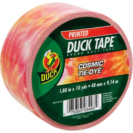 "Duck Brand Duct Tape, 1.88"" x 10 yard, Cosmic"