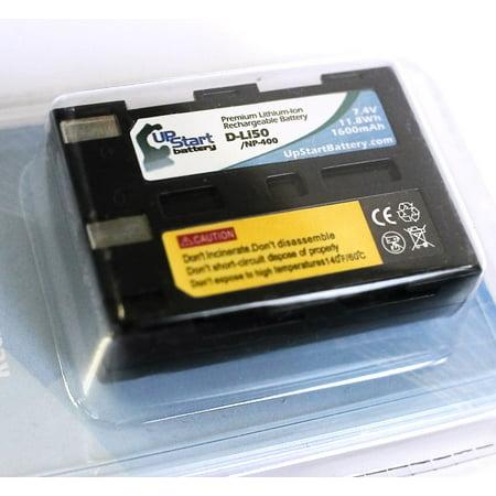 Konica Minolta Maxxum 7D Battery - Replacement for Konica Minolta NP-400 Digital Camera Battery (1600mAh, 7.4V, Lithium-Ion) 400 Digital Camera Battery