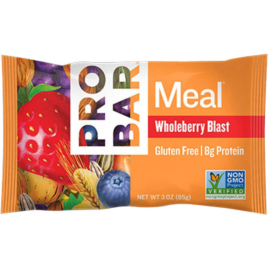 Pro Bar Meal Bar, Whole Berry Blast, 3 OZ (Pack of 12)
