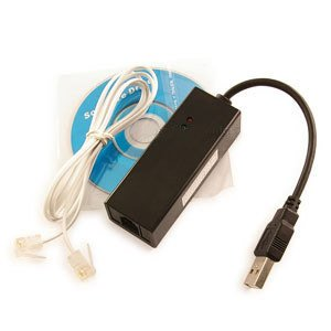 USB 56K External Dial Up Fax Data V.90 V.92 Modem Windows 8.1 7 XP 64/32 bit