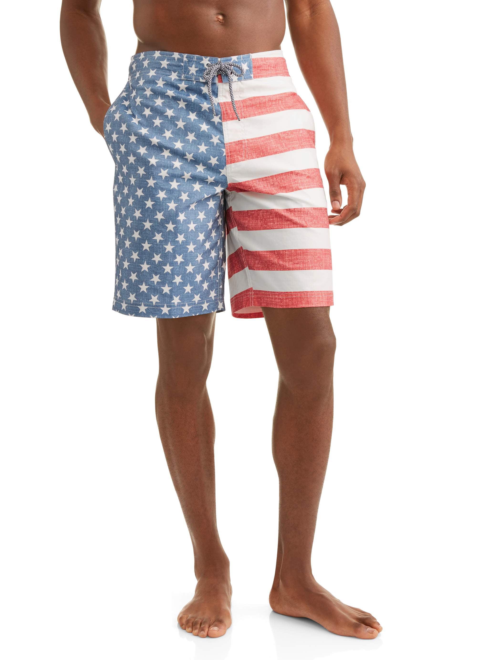 Men's Americana Eboard Swim Trunks