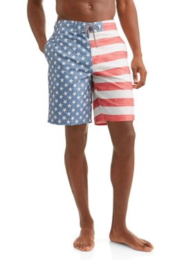 2de9a9b2abe Product Image Men's Americana Eboard Swim Trunks