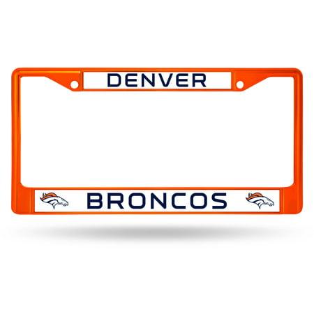 Nfl Sports License Plate (Rico Industries NFL Color License Plate Frame, Denver Broncos )