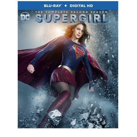Supergirl  The Complete Second Season  Blu Ray   Digital Hd