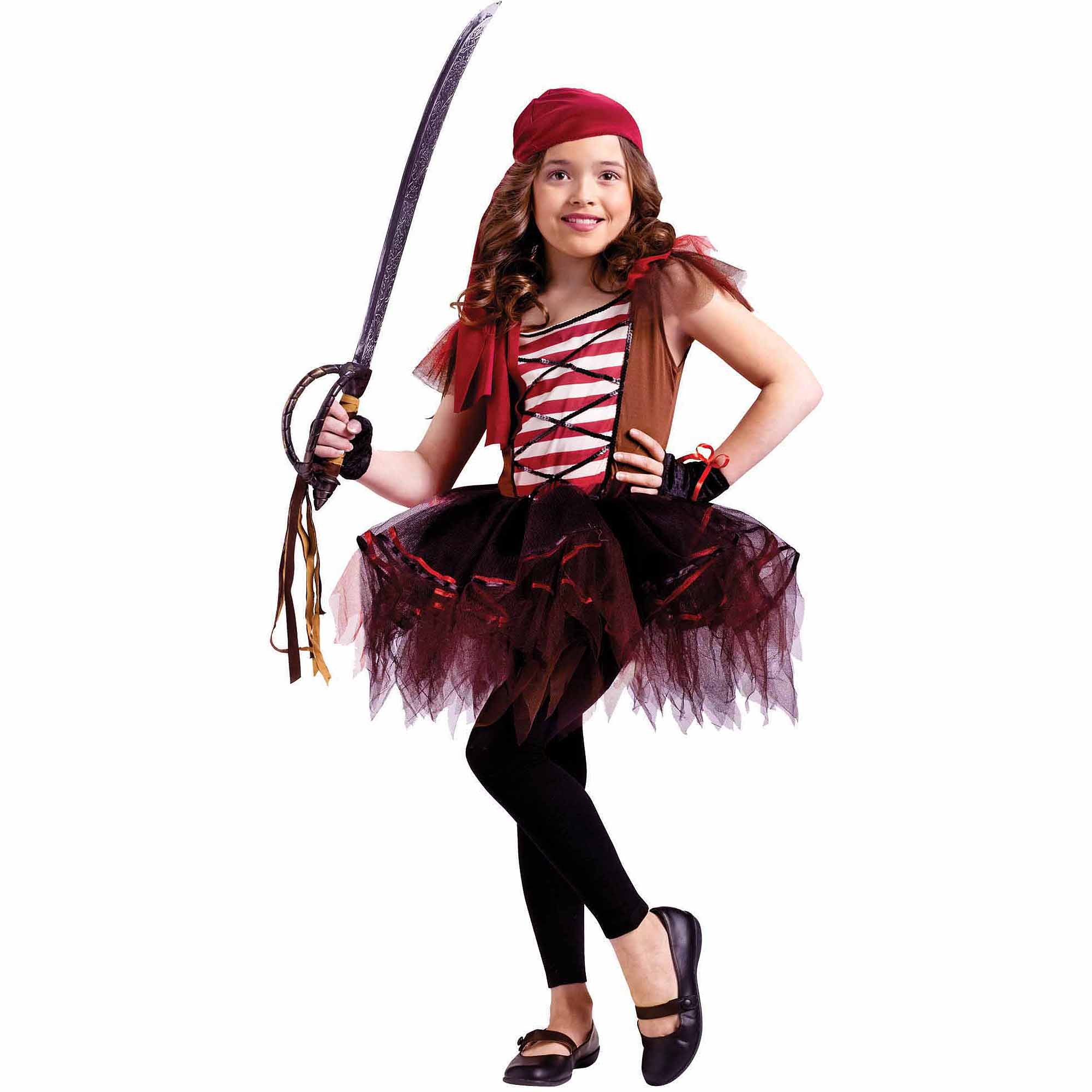 Batarina Pirate Child Halloween Costume by Fun World