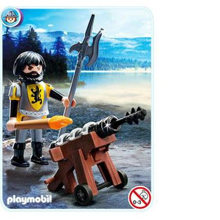 Knights Lion Knight Cannon Guard Set Playmobil 4870 (Lion Knight)