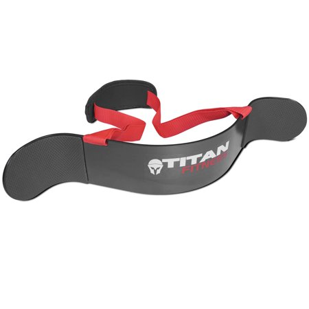 - Titan Heavy Duty Arm Isolator Blaster Body Building Bomber Bicep Curl Triceps