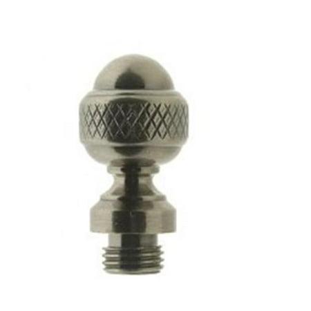 Acorn Door Hinge Finials (Acorn Finial for Door Hinge, Antique Nickel)