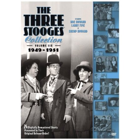 Three Stooges Collection: Volume Six 1949-1951 (DVD)](The Real Three Stooges)