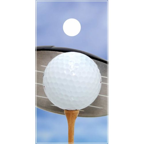 Lightning Cornhole Golf Ball Cornhole Board by