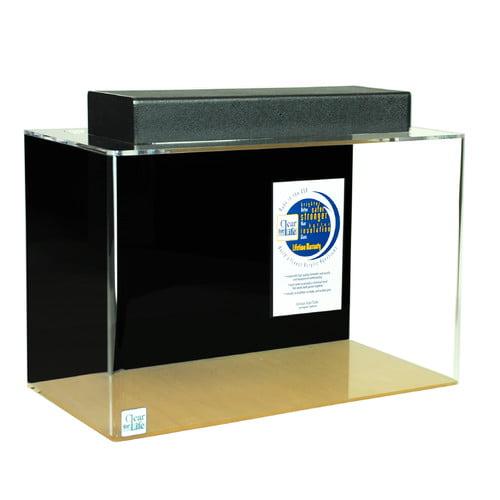 Clear For Life Rectangle Acrylic Aquarium Tank