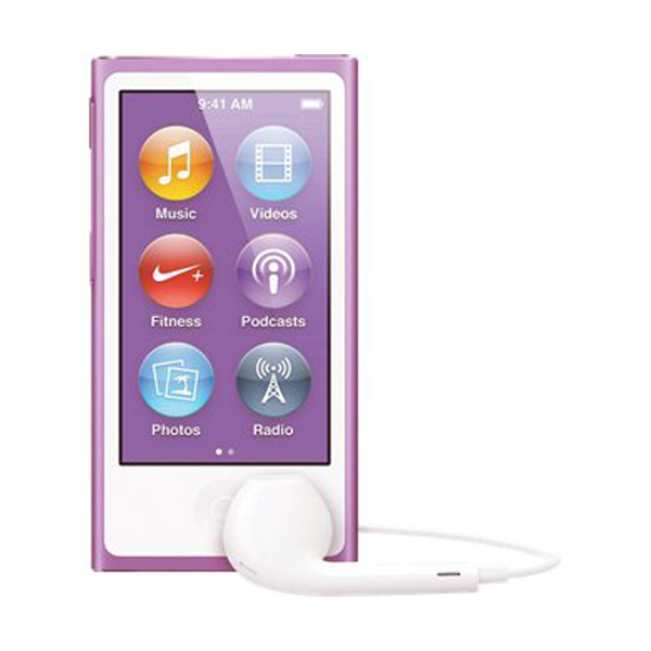 Apple iPod Nano 7th Generation 16GB Purple, Pre-Owned. Very Good (Discontinued Color), MD479LL/A