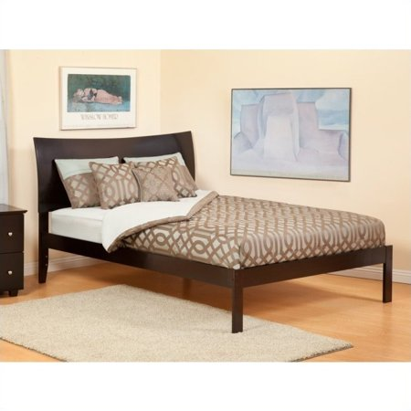 Atlantic Furniture Soho Bed With Open Foot Rail In