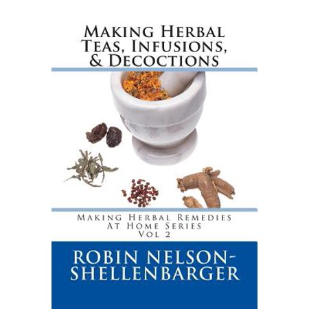 Making Herbal Teas, Infusions, & Decoctions