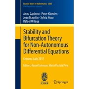 Stability and Bifurcation Theory for Non-Autonomous Differential Equations - eBook