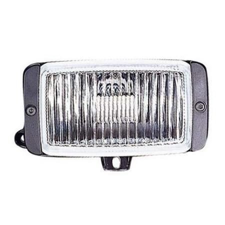 Compatible 1991 - 1994 Oldsmobile Bravada Fog Light Lens - Left (Driver) Side 16502945 GM2596101 Replacement For Oldsmobile Bravada