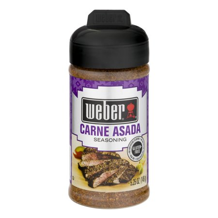 (2 Pack) Weber Seasoning Carne Asada, 5.25 OZ