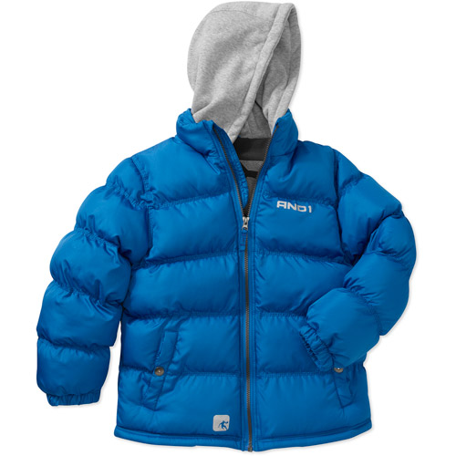 And1 Boys' Bubble Hooded Jacket