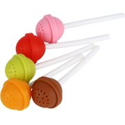 Tea Brewing Filter, Small and Exquisite Loose Leaf Strainer Tea Filter for Tea Lovers for Home and Office - image 5 of 6