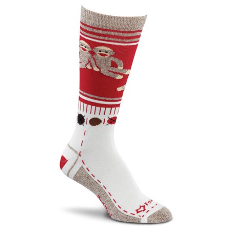 Sock Monkey Clothes (monkey friends sock red lg - fox river - 4590)