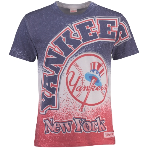 Men's Mitchell & Ness Multi New York Yankees Come Out Swinging T-Shirt