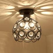 drunkilk Modern Ceiling Lighting Flushmount Light Fixture For Bedroom Bathroom