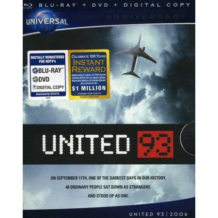 United 93 (Blu-ray + DVD + Digital Copy) Based on a true story. Now coming to Blu-ray Hi-Def for the very first time, an unforgettable story about an event that shook the world. Honest, unflinching and profoundly moving,  United 93  tells the story of the heroic passengers and crew members who prevented the terrorists from carrying out their plans for the fourth hijacked plane on September 11, 2001. As on-ground military and civilian teams scrambled to make sense of the unfolding events, forty people who sat down as strangers found the courage to stand up as one. Languages: English, French, Italian, German, Spanish, Japanese, Subtitles: French, Italian, German, Spanish, Japanese, Korean, Swedish, Danish, Finnish, Dutch, Norwegian, Portuguese, Greek, Mandarin, Director Commentary,  'United 93': The Families And The Film ,  Chasing Planes: Witnesses To 9/11 ,  Memorial Pages ,  Twin Towers ,  Flight 93 National Memorial , Blu-ray-Live, My Scenes, Pocket BLU App.