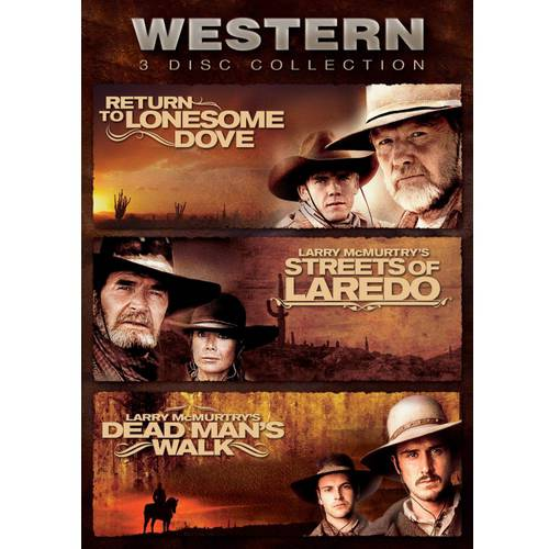 Western 3-Disc Collection: Return To Lonesome Dove / Streets Of Laredo / Dead Man's Walk