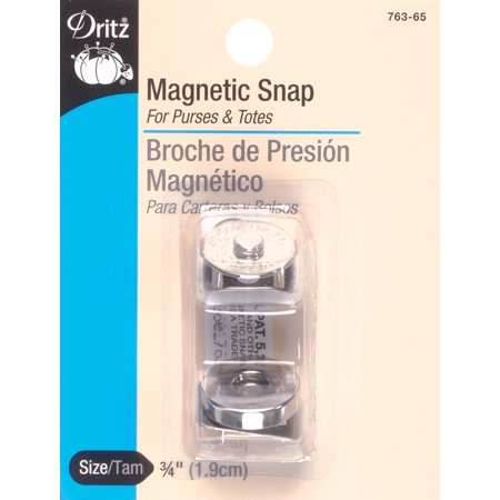 Round Magnetic Snap 3/4
