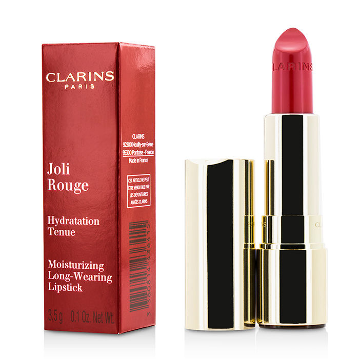 Clarins - Joli Rouge (Long Wearing Moisturizing Lipstick) # 744 Soft Plum - 3.5g/0.1oz