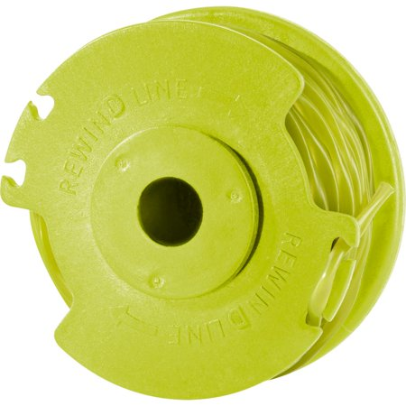 Ryobi Twisted 0 080 Auto Feed Line Spool for Cordless String Trimmer Edger  Refill AC80RL1