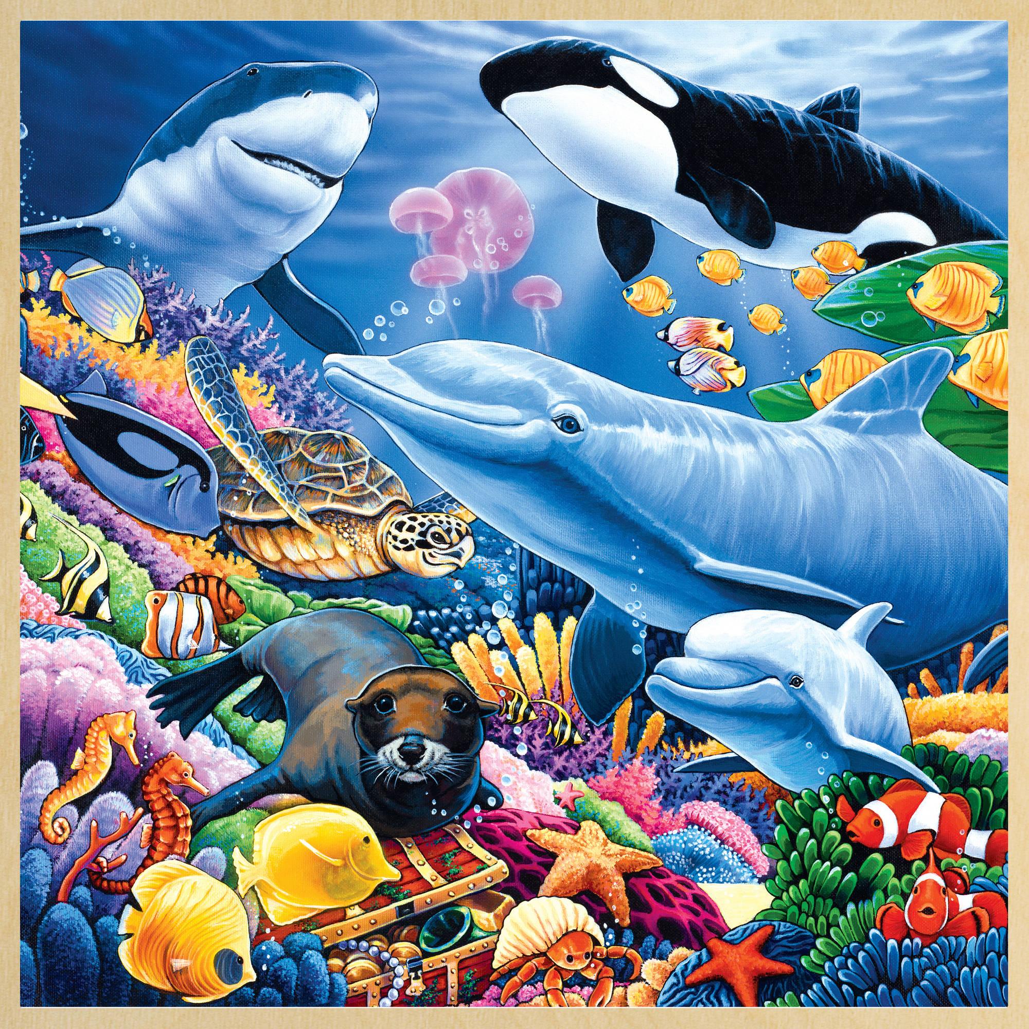 MasterPieces Puzzle Company MasterPieces Undersea Friends 48 Piece Puzzle