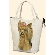 Yorkie Canvas Carryall by Fiddler's Elbow - T704FE