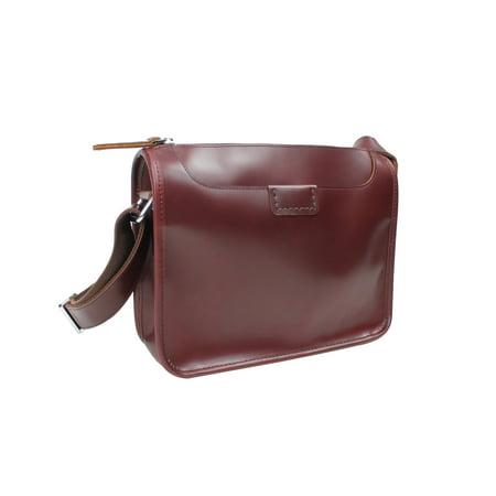 Vagabond Traveler - Vagabond Traveler Full Grain Leather Shoulder Bag  LS53.WR - Walmart.com c282ac3b3a1b6