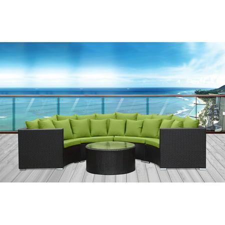 Fine Mod Sofa Cushions Green Contemporary Modern