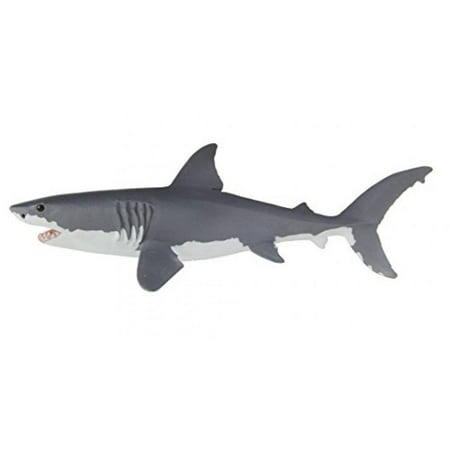 Safari Ltd Wild Safari Sea Life - Great White Shark - Realistic Hand Painted Toy Figurine Model - Quality Construction from Safe and BPA Free Materials - For Ages 3 - Great White Shark Toys