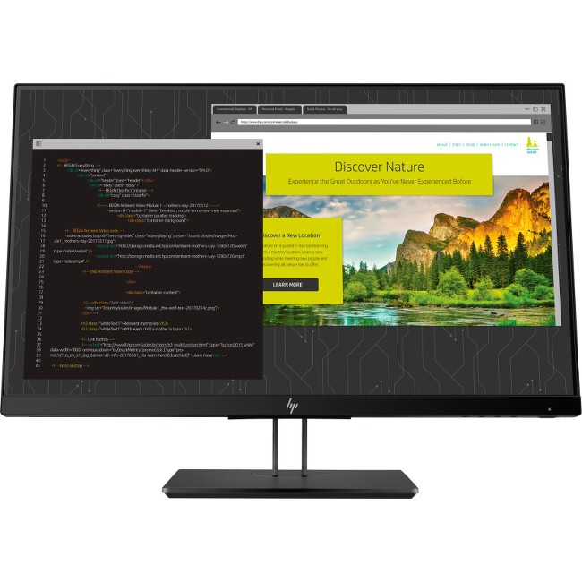"HP Z24NF G2 23.8"" FullHD 1920x1080 5ms LED LCD IPS Monitor"