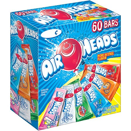 Image of Airheads Assorted Bars, 0.55 oz, 60 ct