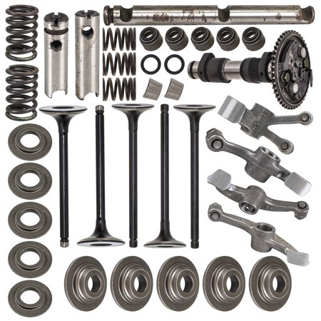 NICHE 660cc Cylinder Head Rebuild Kit Valve Camshaft Rocker Arm For 2002-2008 Yamaha Grizzly Rhino 660 Camshaft Cylinder Head