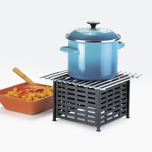 Cal-Mil Iron Lattice Square Stand with Grill