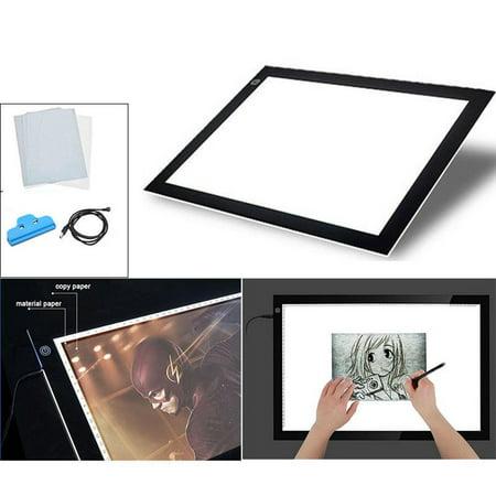 A4 LED Slim Art Craft Drawing Tracing Light Box Pad Board Lightbox ()