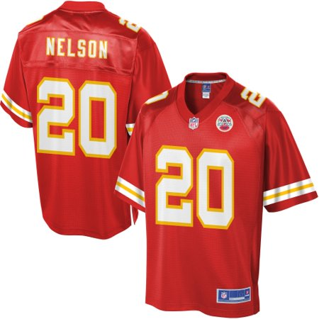 cac0949c Youth Kansas City Chiefs Steven Nelson NFL Pro Line Team Color ...