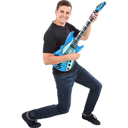 Inflatable Light  Blue Hero Costume Party Decoration Guitar](Inflatable Guitars Ireland)