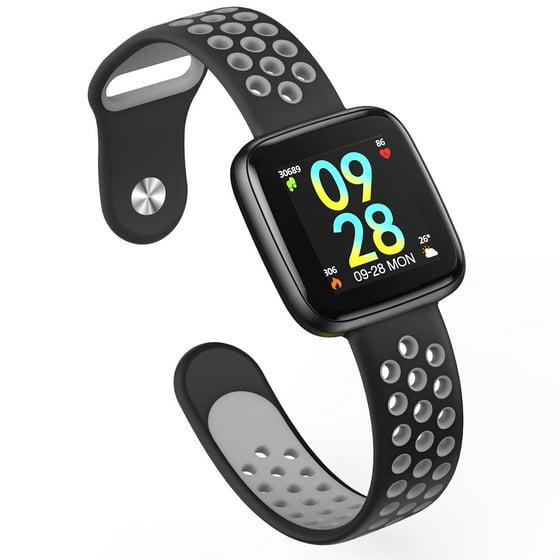 Fitness Tracker, IP68 Waterproof Activity Tracker with Heart Rate Monitor  Bluetooth Multiple Sport Modes Smart Watch Wireless Smart Bracelet Sleep