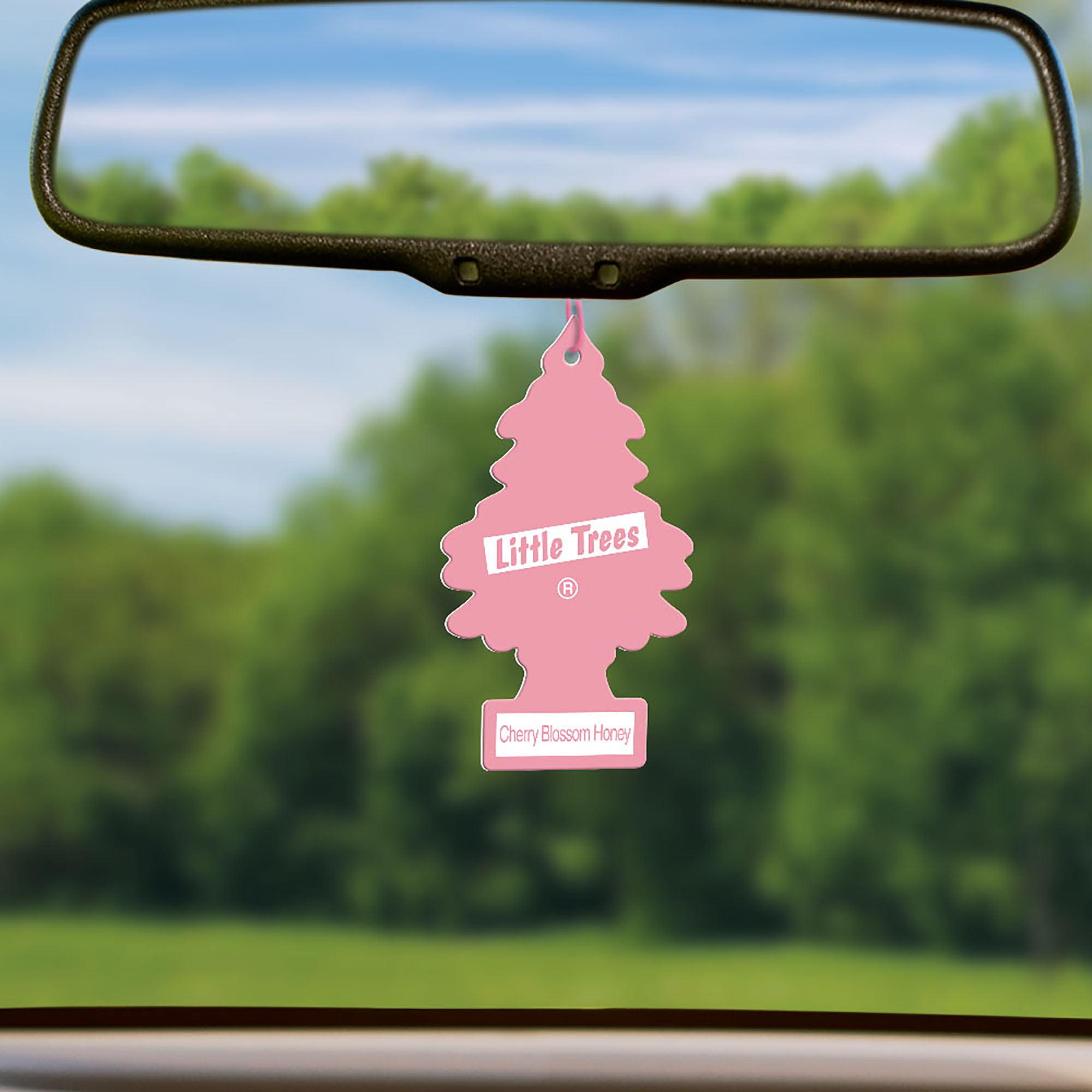 Little Trees Air Freshener Cherry Blossom Honey Fragrance 3 Pack Walmart Com Walmart Com