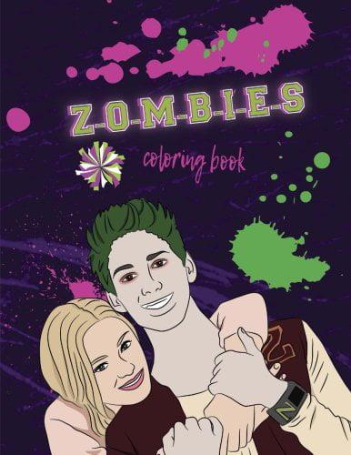 Z-O-M-B-I-E-S: Coloring Book: Disney Z-O-M-B-I-E-S Coloring Book For Kids  And Adults - Walmart.com - Walmart.com
