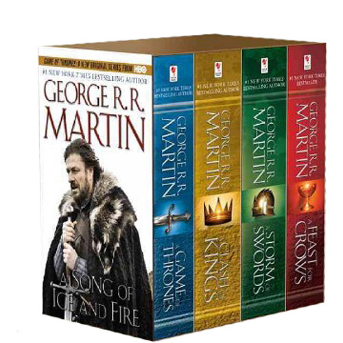 Song of Ice & Fire 4v: A Game of Thrones, a Clash of Kings, a Storm of Swords, and a Feast for Crows