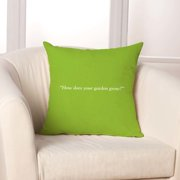 Checkerboard, Ltd Mary, Mary Throw Pillow