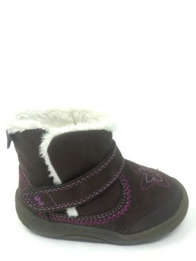 13bf5775de855 Product Image Surprize by Stride Rite Toddler Girls Brown Arliss Fur Lined  Boots