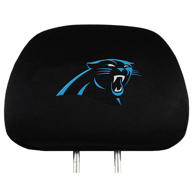 NFL Carolina Panthers Headrest Covers